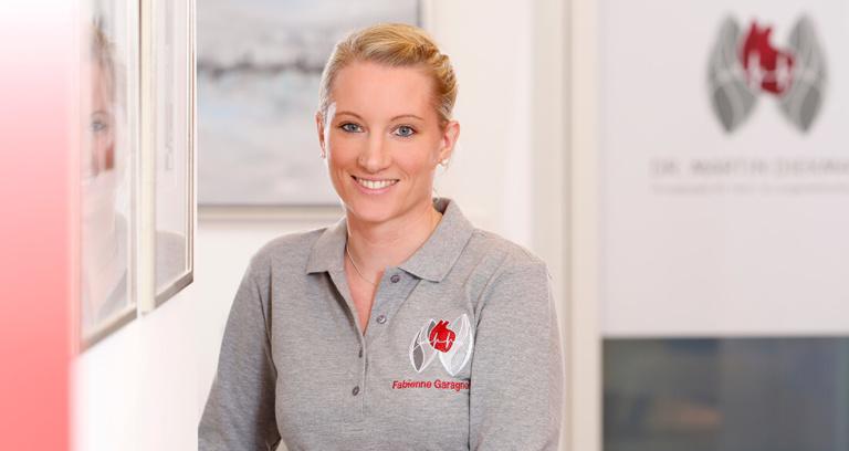 Herz-Kreislauf-Erkrankungen - Köln-Bayenthal - Diekmann - Team - Fabienne Garagnon