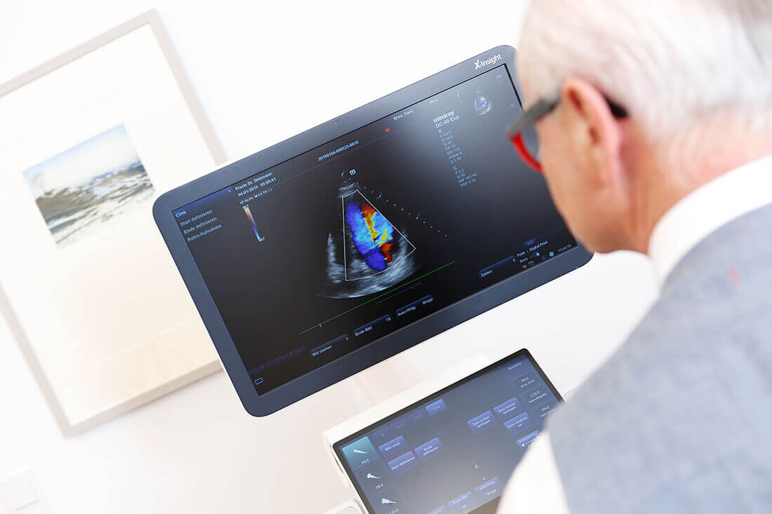 Herz-Kreislauf-Erkrankungen - Köln-Bayenthal - Diekmann - Ultraschalluntersuchung